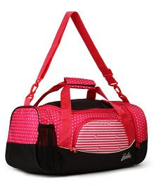 Barbie Duffle Bag - Black & Pink