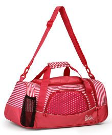 Barbie Travel Duffle Bag Pink - Length 21.6 inches
