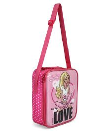 Barbie Lunch Case Bag Pink - Height 10.2 inches