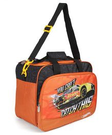 Hot Wheels Duffle Bag - Orange Black