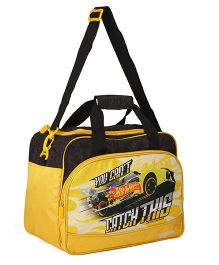 Hot Wheels Duffle Bag - Yellow