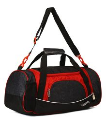 Hot Wheels Travel Duffle Bag - Red Black