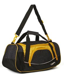 Hot Wheels Travel Duffle Bag - Yellow Black