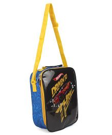 Hot Wheels Lunch Case Bag Black - Height 10.2 inches