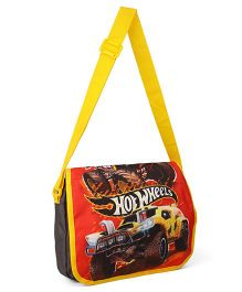 Hot Wheels Messenger Bag Red Black - 12.9 inches