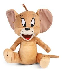 Jerry Mouse Plush Soft Toy Brown - 25 cm