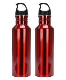 Aristo Sports Bottles Pack of 2 Red - 750 ml