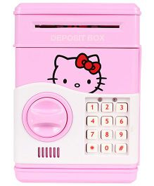 Planet of Toys Electronic Money Bank Hello Kitty Print - Pink