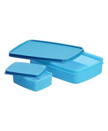 Signoraware Lunch Box With Small Container (Assorted Colours)