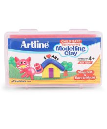 Artline Modelling Clay 140 grams - Red