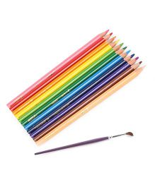 Artline Tri Art Colour Pencils Pack of 12 - Multicolour