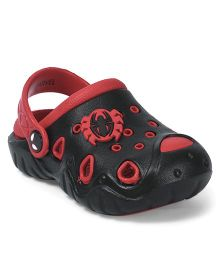 Marvel Spider Man Clogs - Black Red
