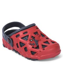 Marvel Spider Man Clogs - Navy Blue Red