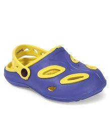 Marvel Spider Man Clogs - Yellow Blue
