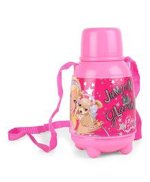 Barbie Sipper Water Bottle Jammin & Glammin Print Pink - 650 ml