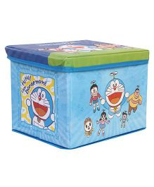 Doraemon Toy Storage Box - Blue