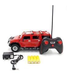 Flyers Bay Battery Operated Remote Controlled Hummer Car - Red