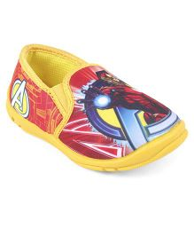 Marvel Avengers Slip On Casual Shoes - Yellow