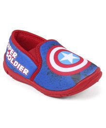 Marvel Captain America Casual Shoes - Red Blue
