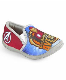 Marvel Avengers Slip On Casual Shoes - Grey