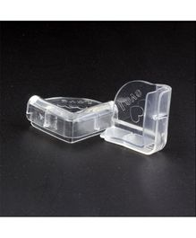 My Milestones Transparent Resin Corner Protector Set - 4 Pieces