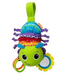Infantino Hug And Tug Musical Bug Clip On Accessory - 11 inches