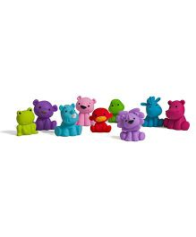 Infantino Pastel Tub O Toys Multicolour - Pack of 9
