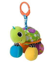 Infantino Topsy Turtle Mirror Pal Clip On Accessory Green - 24 cm