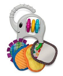 Infantino Linkable Trunk & Tags Rattle Toy - Multicolour