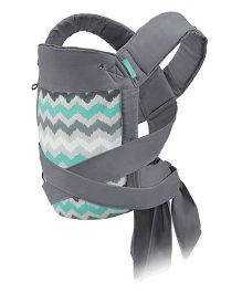 Infantino Sash Wrap & Tie Baby Carrier - Grey