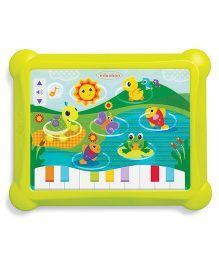 Infantino Topsy Turvy Lights & Sounds Musical Touch Pad - Green
