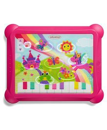 Infantino Topsy Turvy Lights & Sounds Musical Touch Pad - Pink