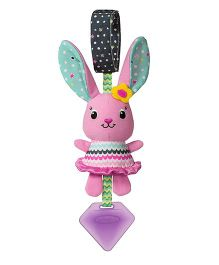 Infantino Sparkle Lil Gem Chime Pal Clip On Accessory Pink - 24 cm