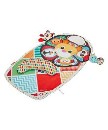 Infantino Peek & Play Tummy Time Activity Mat - Multicolour