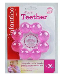 Infantino Water Filled Teether - Pink