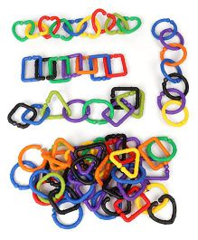 Imagician Playthings Learn Connect & Build Geometric Ring - Multi Colours