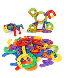 Imagician Playthings Kids Villa Imagi Learn Connect & Build Horse Shoe & Stick - Multicolor