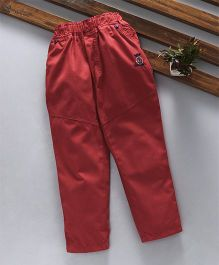Olio Kids Full Length Trousers - Red