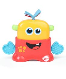Fisher Price Tote Monster Toy - Yellow Red