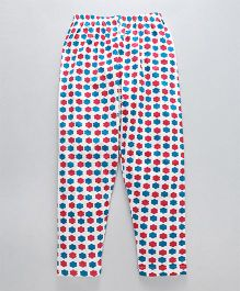 Earth Conscious Full Printed Leggings - Multicolor