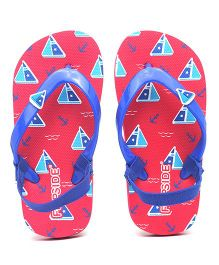 Flipside Kids Surf Flipflop - Red