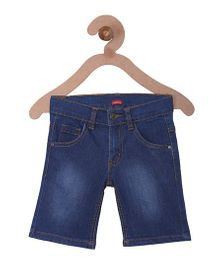 Campana Denim Shorts - Medium Blue Wash