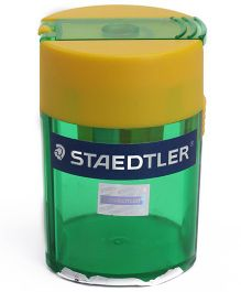 Staedtler - Sharpener Single Hole Green And Yellow