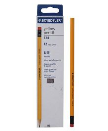 Staedtler - Pencil With Eraser Tip Yellow