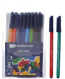 Staedtler - 10 Noris Fibre Tip Pen Colours
