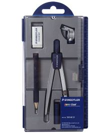 Staedtler - Geometry Set Of Compass In Portable Case
