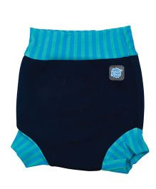 Splash About Striped Border Shorts For Swimming - Turquoise