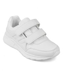 Kittens School Shoes - White