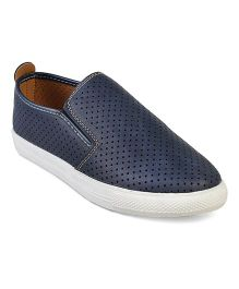 Kittens Classic Plain Loafers - Navy