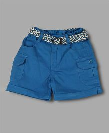 Chocolate Baby Basic Shorts - Royal Blue